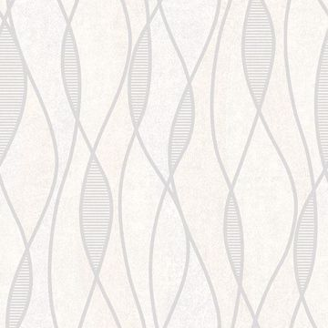 Picture of Gyro Light Grey Swirl Geometric