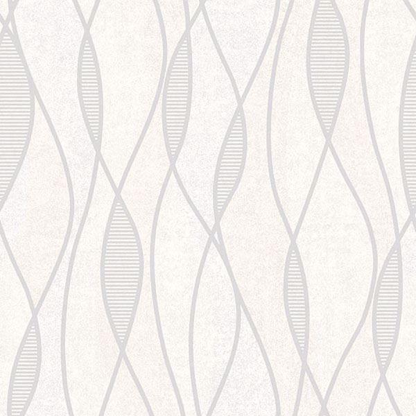 Picture of Gyro Light Grey Swirl Geometric