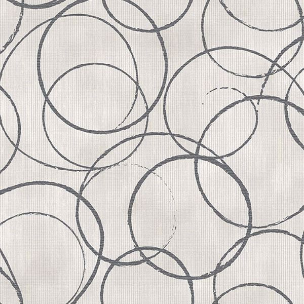 Picture of Ripple Black Circle Geometric