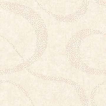Picture of Swirl Cream Scroll Geometric