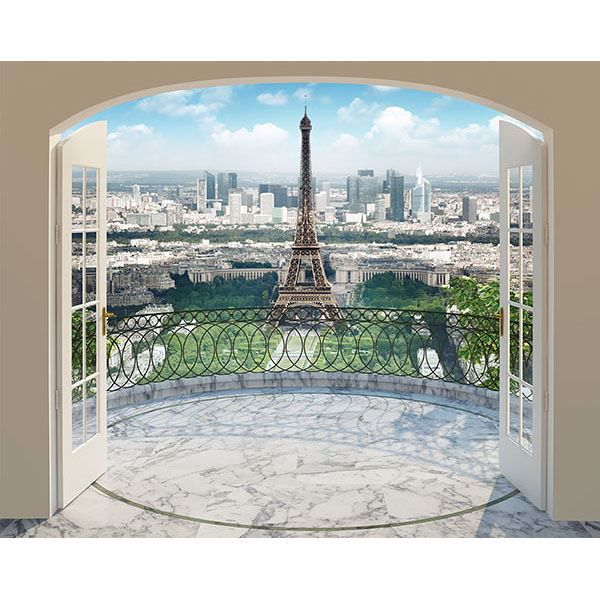 Picture of Eiffel Tower in Paris Wall Mural