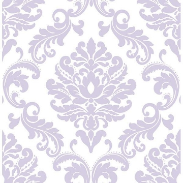 Picture of Purple Ariel Peel And Stick Wallpaper