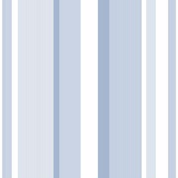 Picture of Blue Awning Stripe Peel And Stick Wallpaper