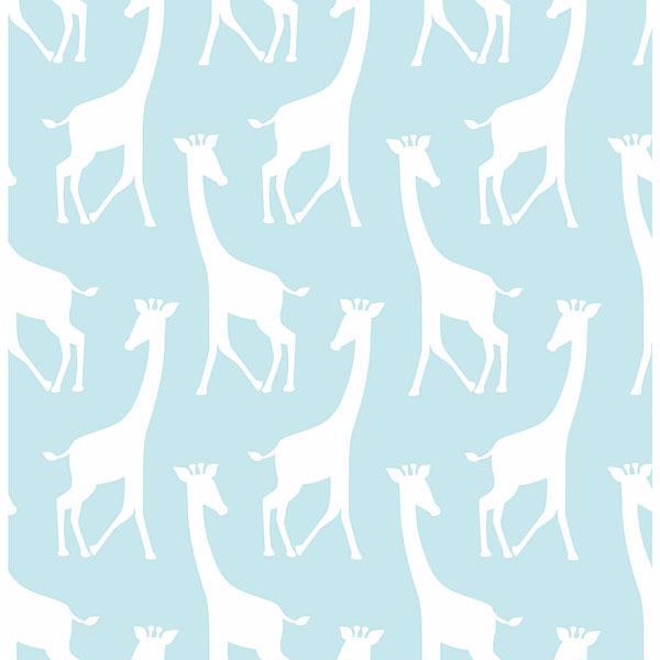Picture of Turquoise Savannah Soiree Peel And Stick Wallpaper