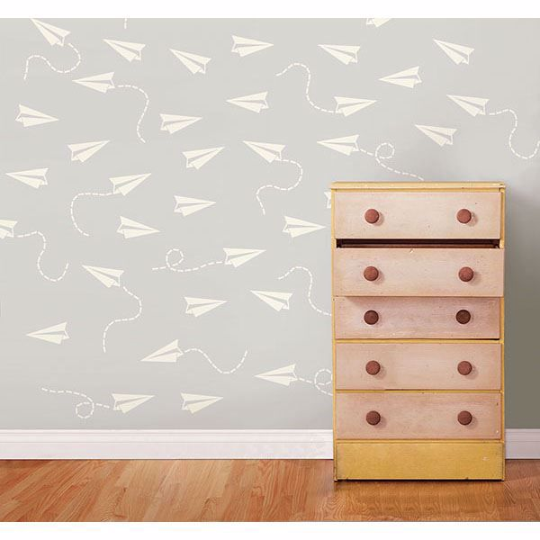 Picture of Cream Paper Airplane MiniPops