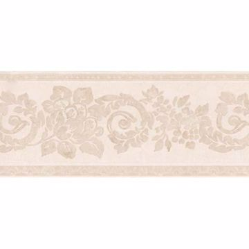 Light Pink Floral Scroll Border - Lucky Day