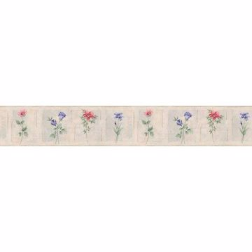 Rose Cameo Flowers Border - Lucky Day