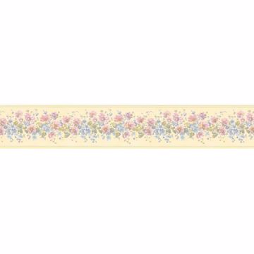 Yellow Floral Trail Border - Lucky Day