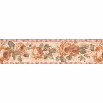 Red Country Rose Border - Lucky Day