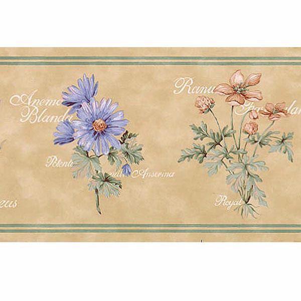 Lavender Flower Name Border - Lucky Day