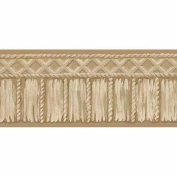 Beige Tribal Rope Border - Lucky Day