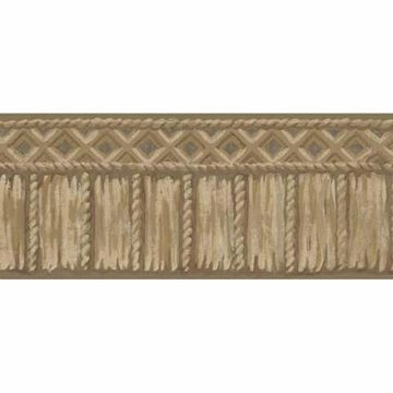 Brown Tribal Rope Border - Lucky Day