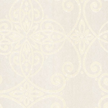 Picture of Galina Taupe Scroll Damask