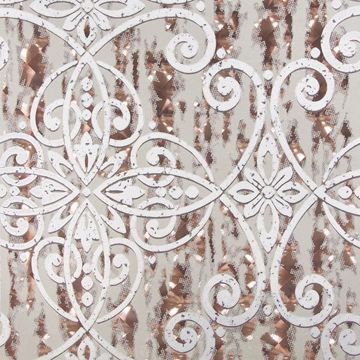 Picture of Ilias Copper Optical Damask