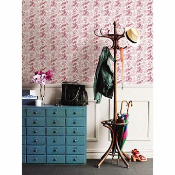 Picture of Charlise Pink Floral Stripe