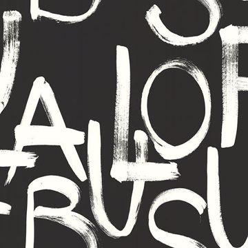 Picture of Fabulous Black Brushstroke Text