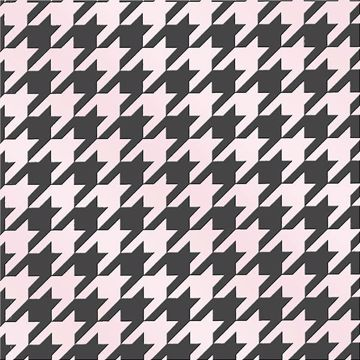 Picture of Vegata Light Pink Houndstooth