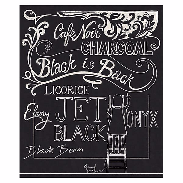 Picture of Chalky Black Chalkboard Wall Mural