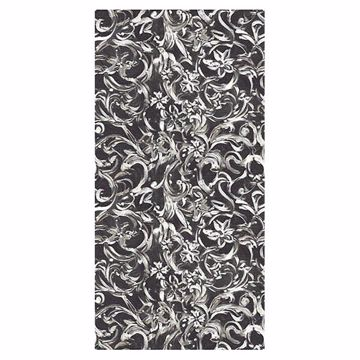 Picture of Patera Black Floral Mural