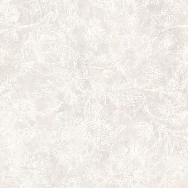 Picture of Kepler Taupe Sketched Floral