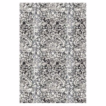Picture of Painted Lace Light Grey Damask Mural