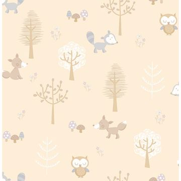 Picture of Forest Friends Taupe Animal