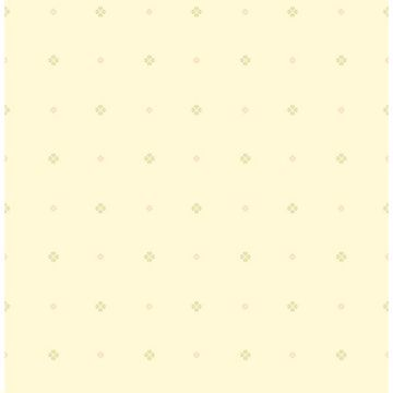 Picture of Floret Yellow Mini Floral Geometric