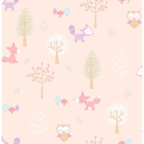 Picture of Forest Friends Pink Animal