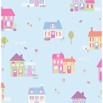 Picture of Happy Street Blue Houses