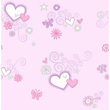Picture of Heart Felt Lilac Hearts