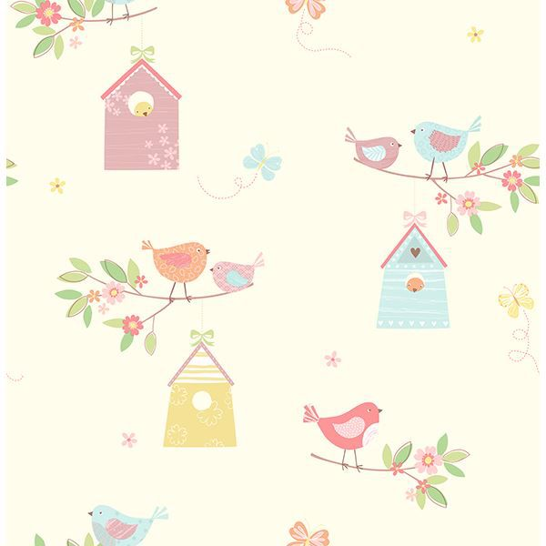Picture of Birdhouses Turquoise Birds