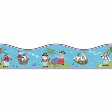 Picture of Pirates Teal Border
