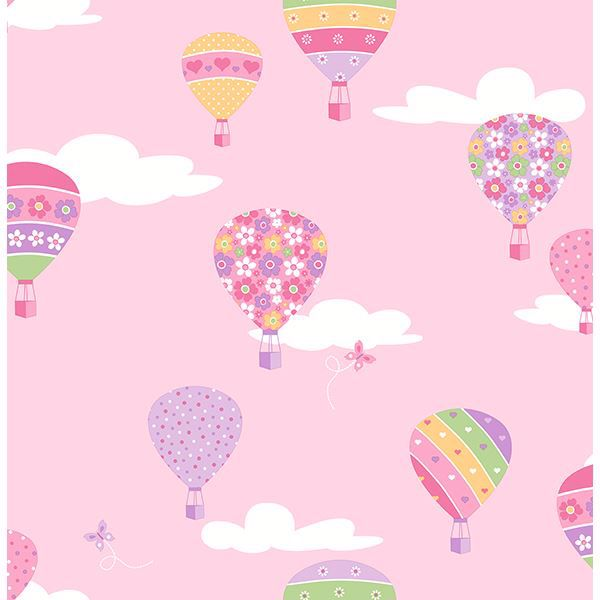Picture of Hot Air Balloons Pink Balloons