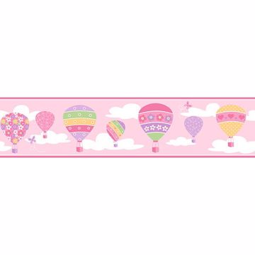 Picture of Balloons Pink Border
