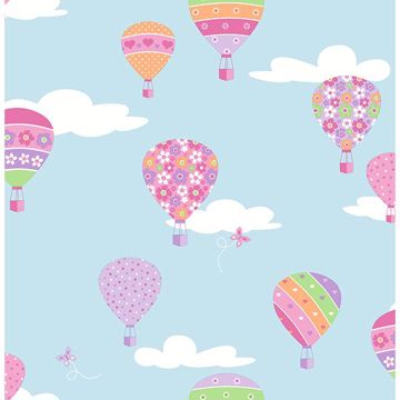 Picture of Hot Air Balloons Blue Balloons