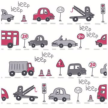 Picture of Beep Beep  Grey Cars
