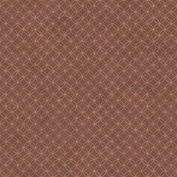 Picture of Loopy Hoops Burgundy Geometric