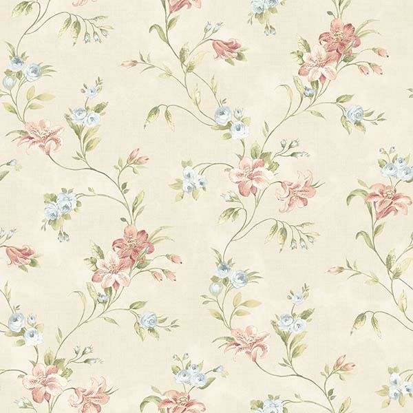 Picture of Lorraine Lily Peach Floral
