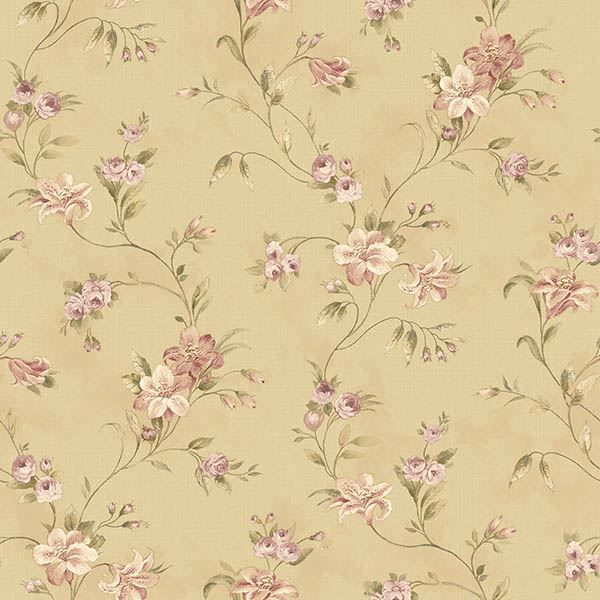 Picture of Lorraine Lily Gold Floral