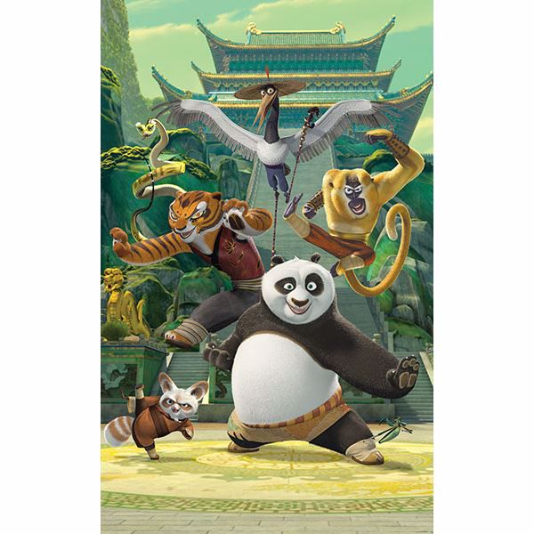 Picture of Kung Fu Panda Wall Mural