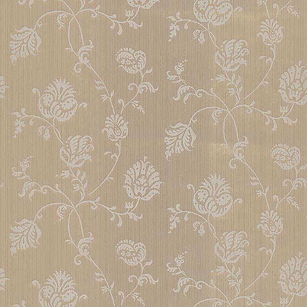 Picture of Isabel Gold Jacobean Trail Wallpaper