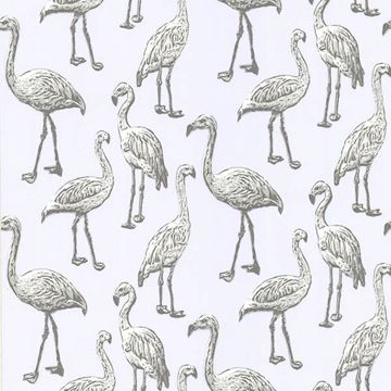 Picture of Flamingo Light Grey Graphic