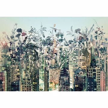Picture of Urban Jungle Wall Mural