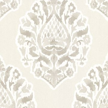 Picture of Kavala Light Grey Damask