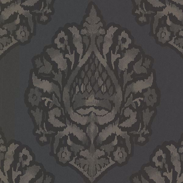Picture of Kavala Charcoal Damask