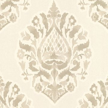 Picture of Kavala Taupe Damask