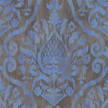 Picture of Argos Blue Damask