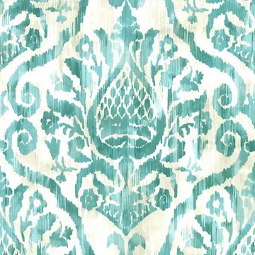 Picture of Argos Teal Damask