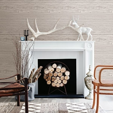 Picture of White Washed Boards Grey Shiplap