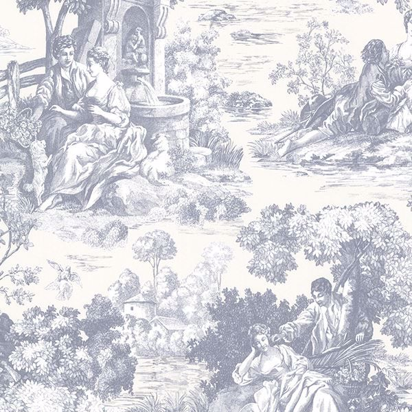 Picture of Benvolio Blue Toile